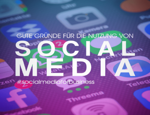 Gute Gründe für Social Media Marketing